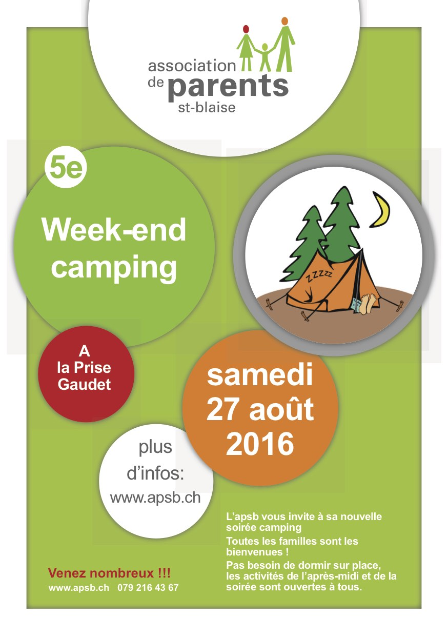 Flyer APSB camping 2016
